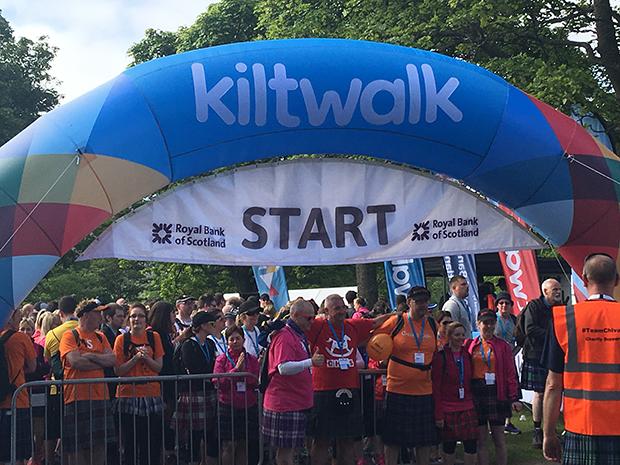 Aberdeen Kiltwalk 1