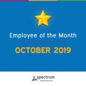 October Employee of the month